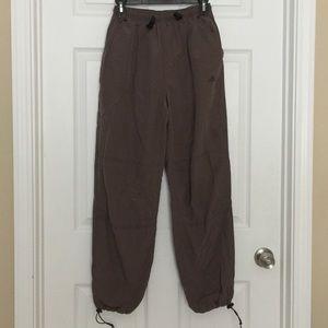 Boys brown adidas pants size small